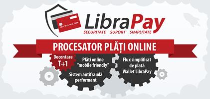 Procesator plati online - LibraPay