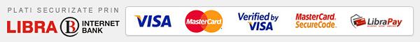 Plati online securizate prin LibraPay
